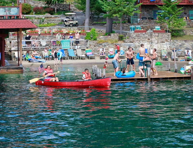 Lake George Resort Activities