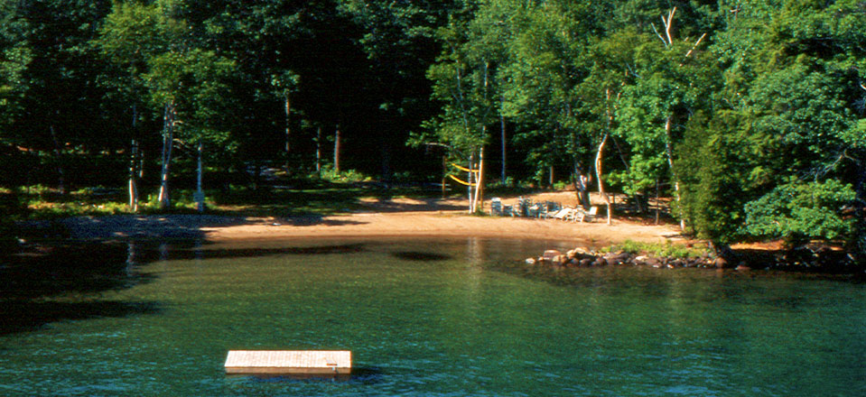 Canoe Island Lodge's Private Island