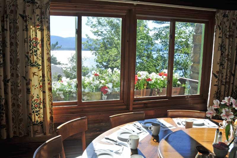 Lake George Resort Dining