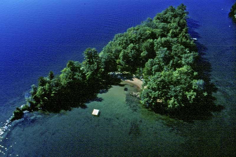 Private Island at Canoe Island Resort