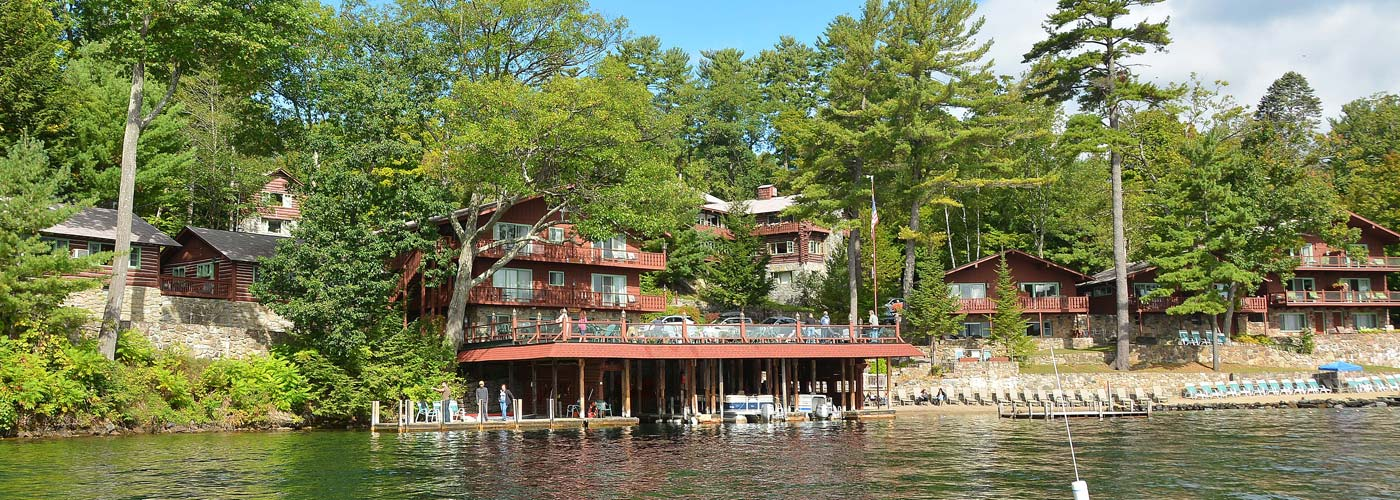Canoe Island Resort in Lake George, NY