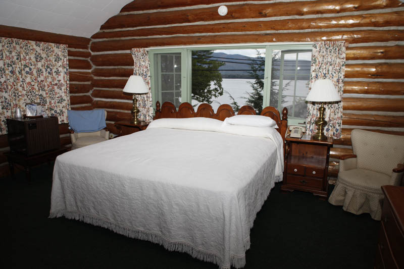 Adirondack Log Cabin Accommodations
